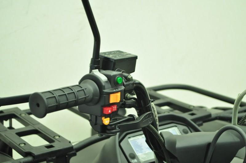 Automatik Quad Atv - 4WD Allrad + AHK + Seilwinde - HISUN 400 - 10 - SCHWARZ – Bild 11