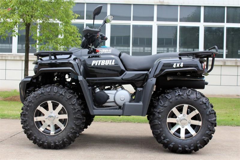 ATV Quad Automatik - 4WD Allrad + Rangierkupplung + Seilwinde - HUMMER 400 - – Bild 3