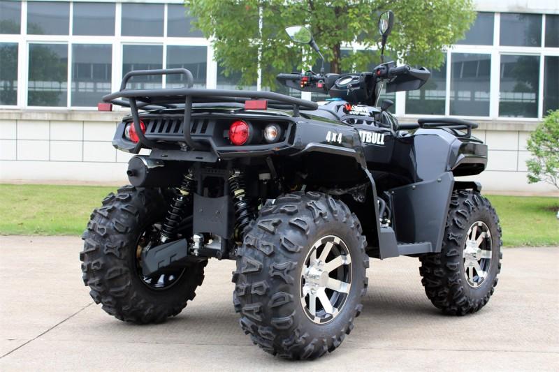 ATV Quad Automatik - 4WD Allrad + Rangierkupplung + Seilwinde - HUMMER 400 - – Bild 6