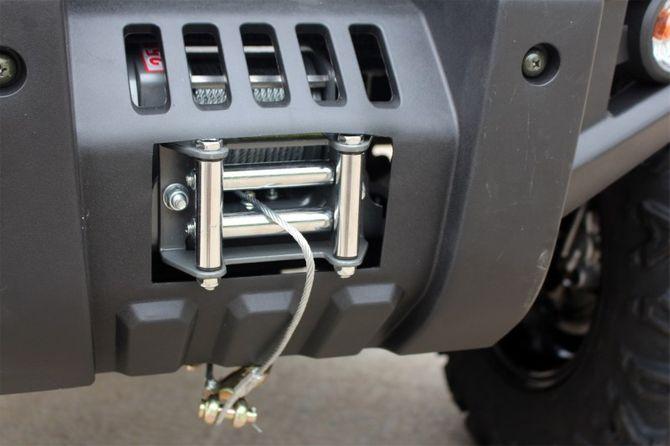 ATV Quad Automatik - 4WD Allrad + Rangierkupplung + Seilwinde - HUMMER 400 -