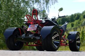 "Racing Quad 300ccm  ""Firestorm 2""  Automatik Quad Race Edition 2015"
