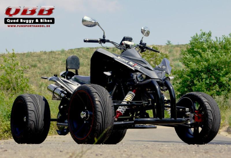250 ccm Racing Quad Speedslide Xtreme - NEU 2016 - schwarz carbon – Bild 3