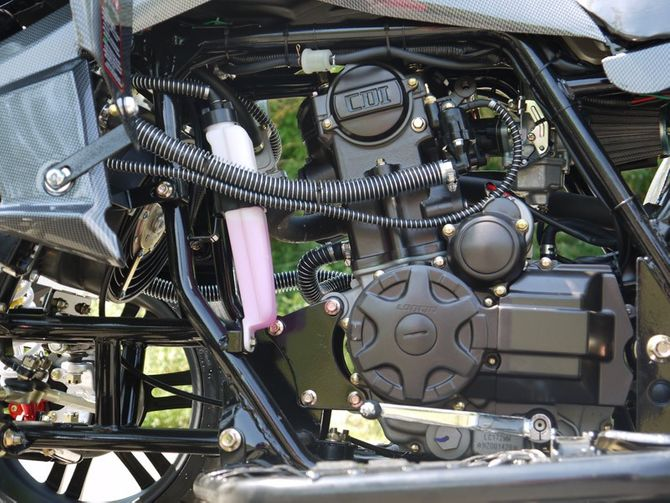250 ccm Racing Quad Speedslide Xtreme - NEU 2016 - schwarz carbon