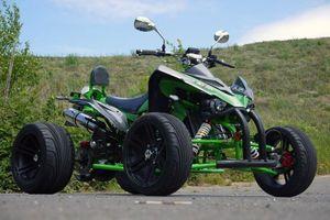250 ccm Racing Quad Speedslide Xtreme - NEU 2015 - Grün Carbon 001
