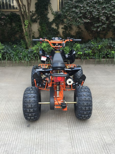 "Kinder Quad 125ccm ""Speedy Hawk"" 8"" Reifen - Orange Limited"
