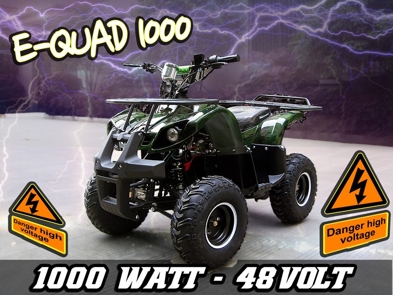 Kinderquad Atv elektrisch mit 1000 Watt-Motor E-Quad 1000 – Bild 5