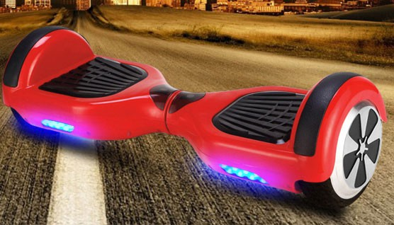 Balance Board - E-Balance Scooter - Hoverboard 600W  36V - rot
