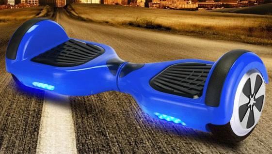Self Balance Board - E-Balance Scooter - Hoverboard 600W  36V - blau