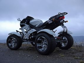 Shineray XY250ST Power Quad Atv
