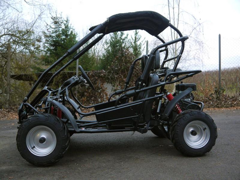 Kinderbuggy GoKart Buggy für Kinder mit 196ccm 4 Takt-Motor - Automatik – Bild 4