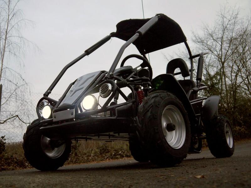 Kinderbuggy GoKart Buggy für Kinder mit 196ccm 4 Takt-Motor - Automatik – Bild 2