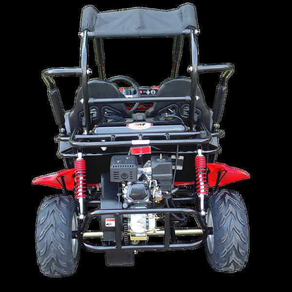 Kinderbuggy GoKart Buggy für Kinder mit 200ccm 4 Takt-Motor - Automatik - 2 Sitzer - drosselbar – Bild 5