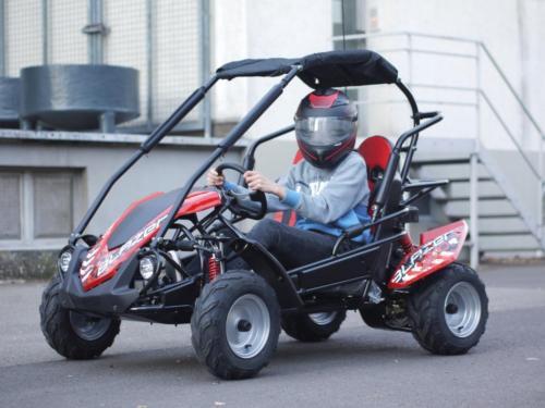 Kinderbuggy GoKart Buggy für Kinder mit 200ccm 4 Takt-Motor - Automatik - 2 Sitzer - drosselbar