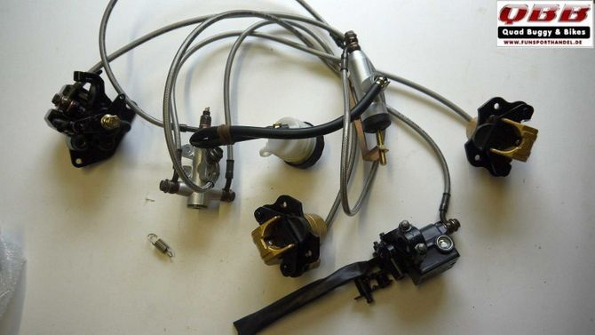 Bremsanlage komplett für ATV QUAD Kandi Forester 200cc