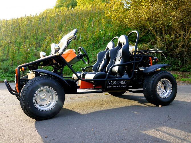 "Strandbuggy mit Straßenzulassung ""CABRI"" NCKD 650cc"