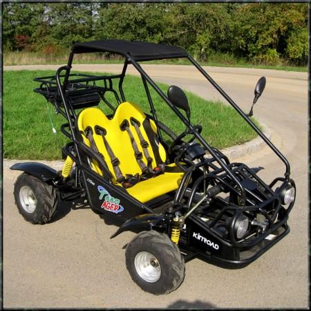 Kinderbuggy GoKart Buggy für Kinder mit 110ccm 4 Takt-Motor – Bild 2
