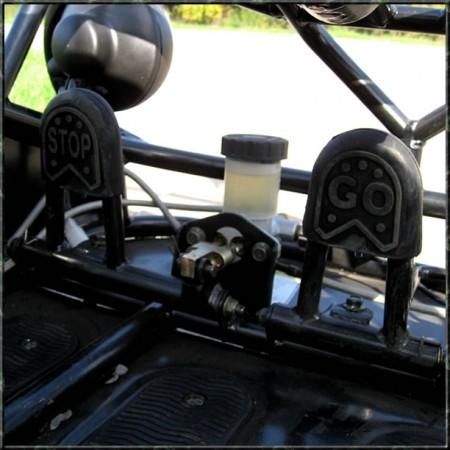 Kinderbuggy GoKart Buggy für Kinder mit 110ccm 4 Takt-Motor – Bild 7