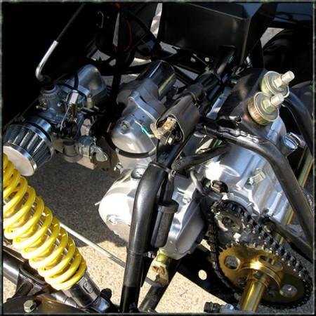 Kinderbuggy GoKart Buggy für Kinder mit 110ccm 4 Takt-Motor – Bild 8