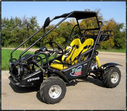 Kinderbuggy GoKart Buggy für Kinder mit 110ccm 4 Takt-Motor