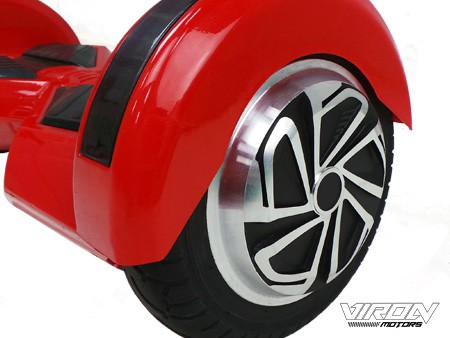 Selbstbalancierender E-Scooter - Hoverboard 700W 36V - 8 Zoll Reifen- rot