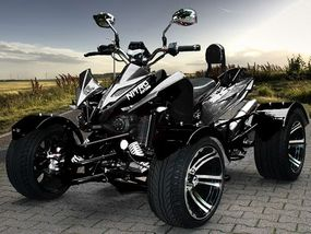 "Racing Quad 300ccm  ""Firestorm""  Automatik Quad Race Edition 2012"