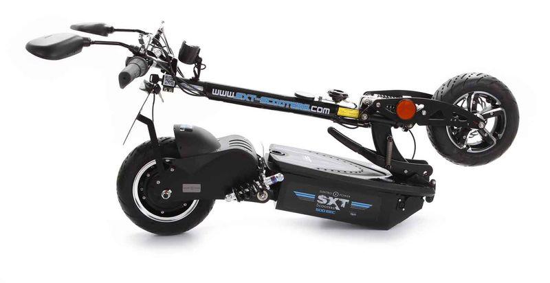 SXT 500 EEC E-Scooter mit Strassenzulassung in schwarz – Bild 4