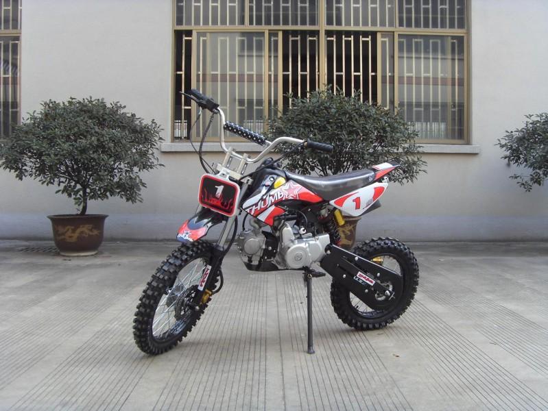 125ccm Automatik Dirtbike Cross Bike 17/14 Reifen inkl. E-Starter – Bild 5