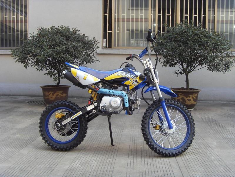 125ccm Automatik Dirtbike Cross Bike 17/14 Reifen inkl. E-Starter – Bild 8