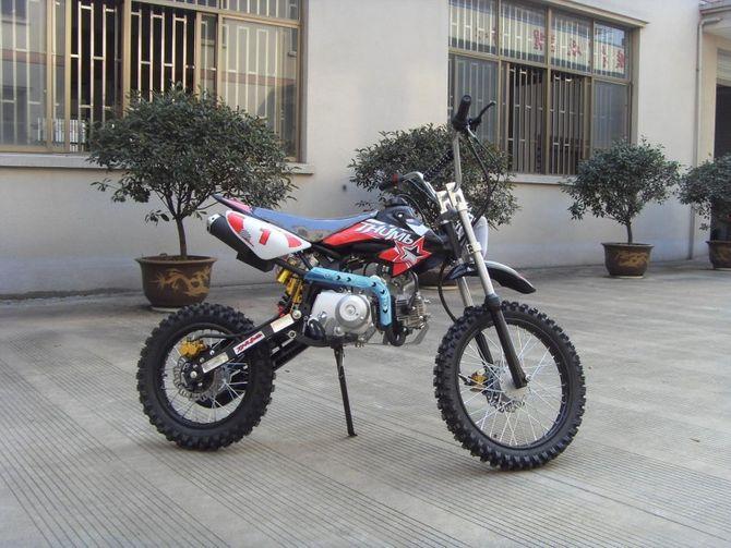 125ccm Automatik Dirtbike Cross Bike 17/14 Reifen inkl. E-Starter