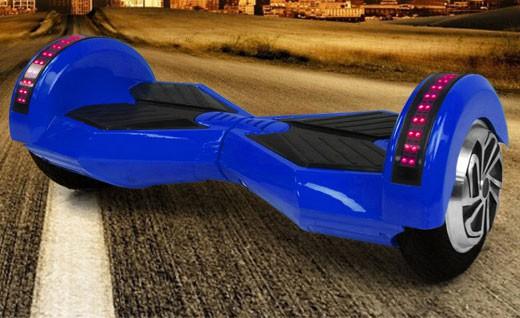 Selbstbalancierendes Board- Hoverboard 700W 36V - 8 Zoll Reifen- blau – Bild 1