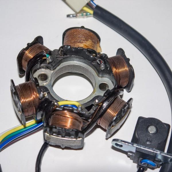 Lichtmaschine sternförmig inkl. Hallgeber 110ccm - 125ccm Kinderquad Quad ATV