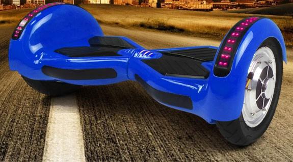 Selbstbalancierender E-Scooter - Elektro Board - 800W 36V - 10 Zoll Reifen- blau – Bild 1