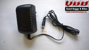Ladegerät 12 Volt 0,8A 1- und 3-polig Buchse für Kinderquad 001
