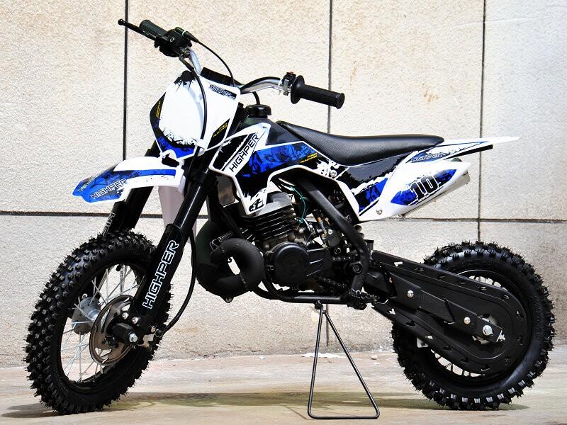 Kinder Cross Motorrad 50ccm 2 Takt - 12/ 10 Zoll Reifen Sportgerät mit Power – Bild 7