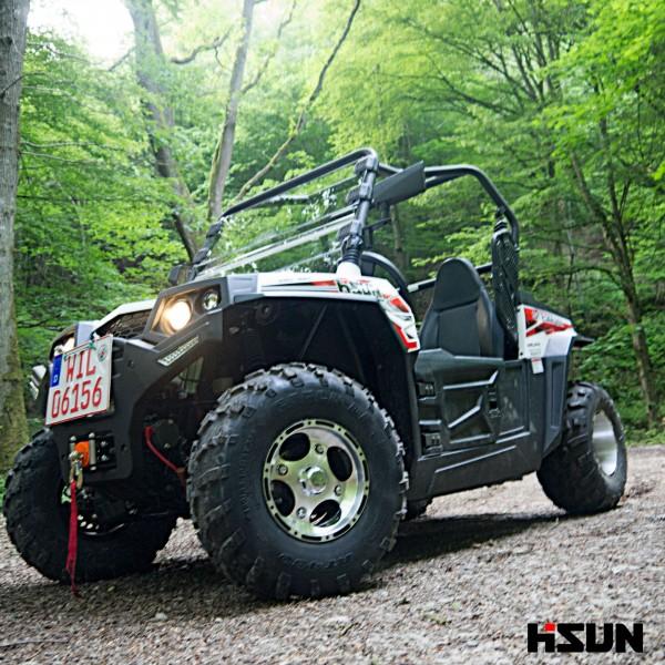 UTV Striker 250 von Hisun - Sport & Fun Edition inkl. Seilwinde - weiss – Bild 1