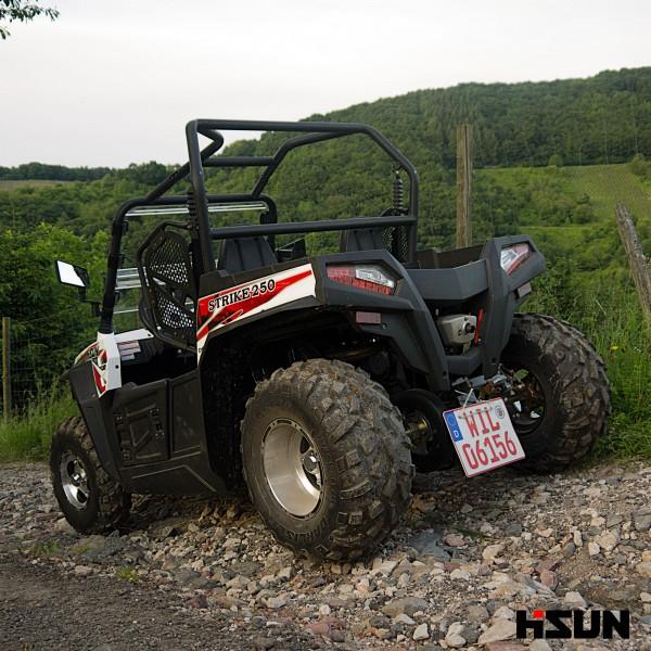 UTV Striker 250 von Hisun - Sport & Fun Edition inkl. Seilwinde - weiss – Bild 4