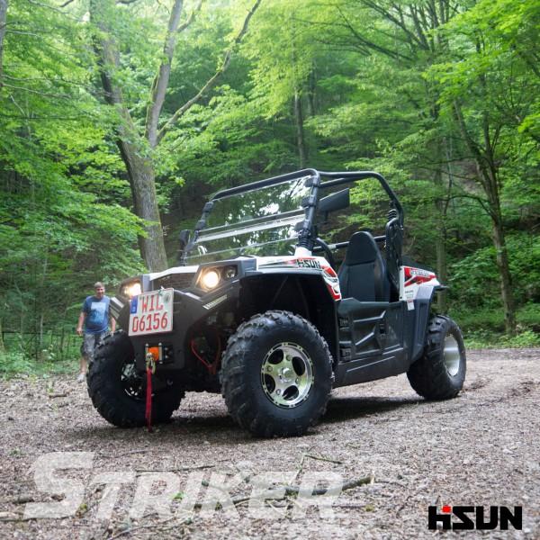 UTV Striker 250 von Hisun - Sport & Fun Edition inkl. Seilwinde - weiss