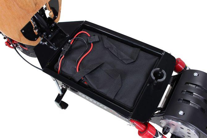 E-Scooter elektrischer Tretroller mit 1600 Watt - 48Volt - 40 km/h