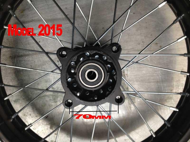 "Felge 14"" Zoll Dirtbike Crossbike 1,85x14"" – Bild 2"