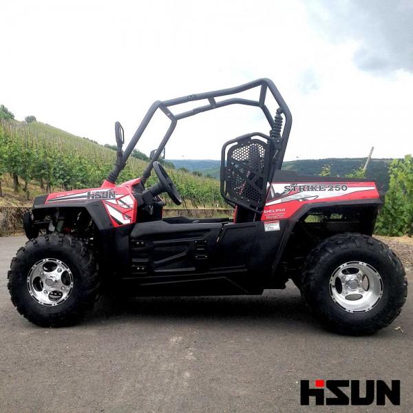 UTV Striker 250 von Hisun - Sport & Fun Edition inkl. Seilwinde - ROT – Bild 4