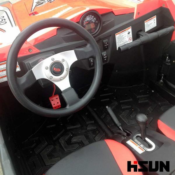 UTV Striker 250 von Hisun - Sport & Fun Edition inkl. Seilwinde - ROT – Bild 8