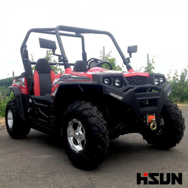 UTV Striker 250 von Hisun - Sport & Fun Edition inkl. Seilwinde - ROT