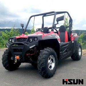 UTV Striker 250 von Hisun - Sport & Fun Edition inkl. Seilwinde - ROT 001