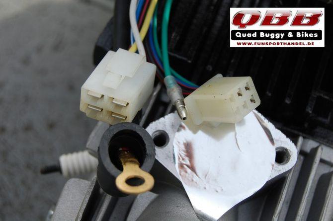 110 ccm Motor Automatik Quad Motor 110cc mit Vor u. Rückwärtsgang