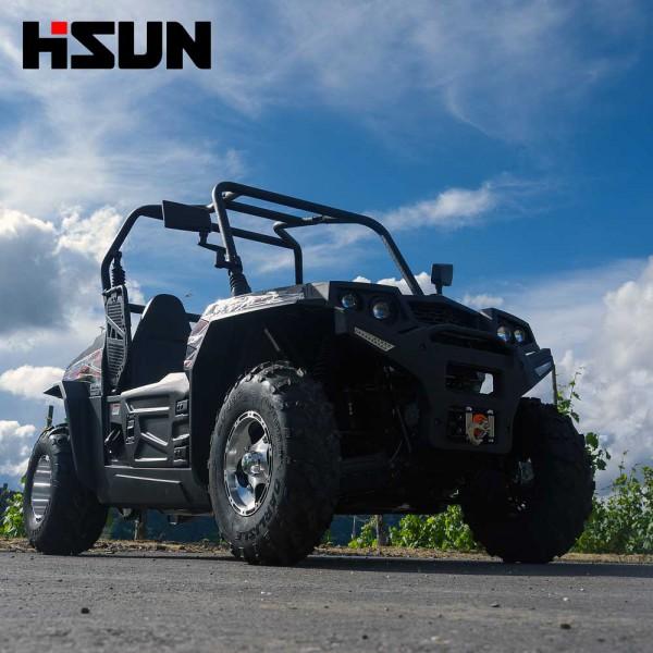 UTV Striker 250 von Hisun - Sport & Fun Edition inkl. Seilwinde - SCHWARZ – Bild 1