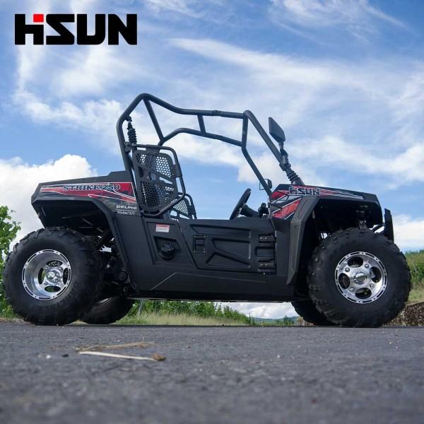 UTV Striker 250 von Hisun - Sport & Fun Edition inkl. Seilwinde - SCHWARZ