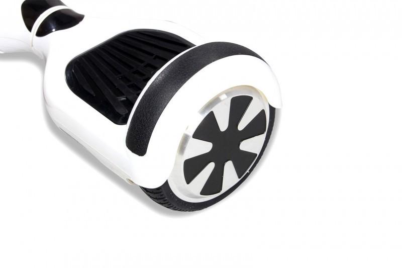 "Hoverboard - Selbstbalancierender E-Scooter - Elektro Board Modell AB700 6.5"" - weiss – Bild 4"