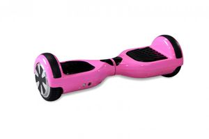 "Hoverboard - Selbstbalancierender E-Scooter - Elektro Board Modell AB700 6.5"" - pink"