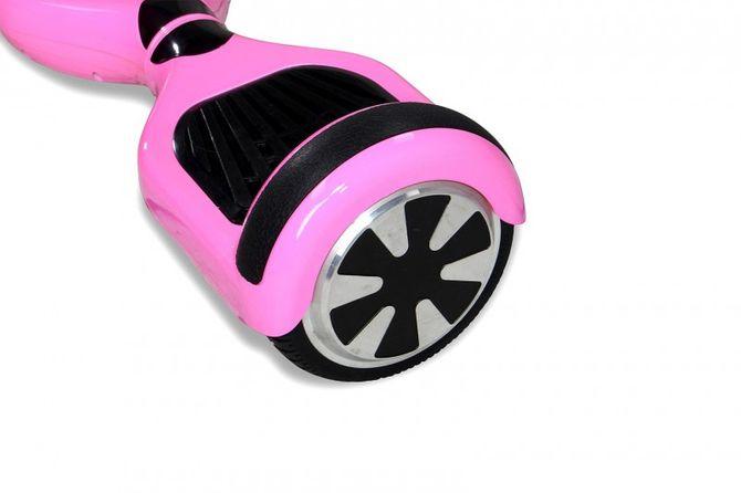 "Hoverboard - Selbstbalancierender E-Scooter - Elektro Board Modell AB700 6.5"" - pink"