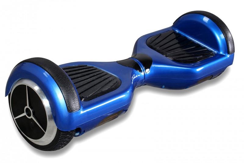 "Hoverboard - Selbstbalancierender E-Scooter - Elektro Board Modell AB700 6.5"" - blau – Bild 3"